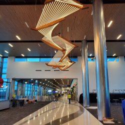 Nashville Airport Concourse  Nashville, TN  Fabricator: Physical Security